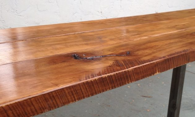 wooden table shellac ideas