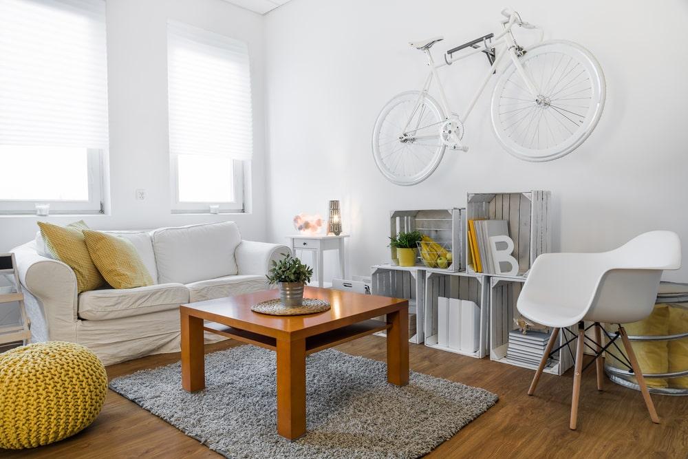 minimalist double duty furniture