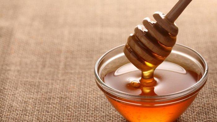 madu murni untuk sakit tenggorokan