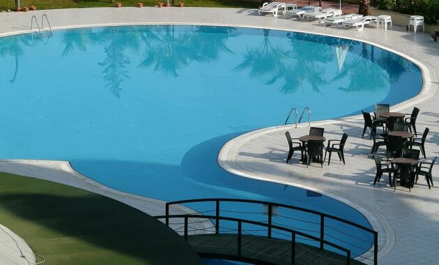 swimming pool pool water sun loungers swim blue azur cool wet