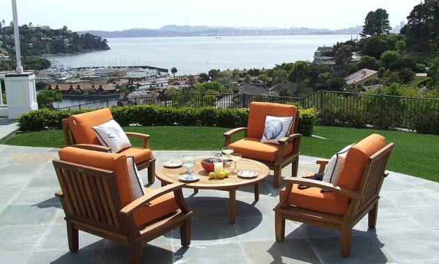 teak teak patio furniture teak furniture patio set patio furniture patio view tiburon luxury