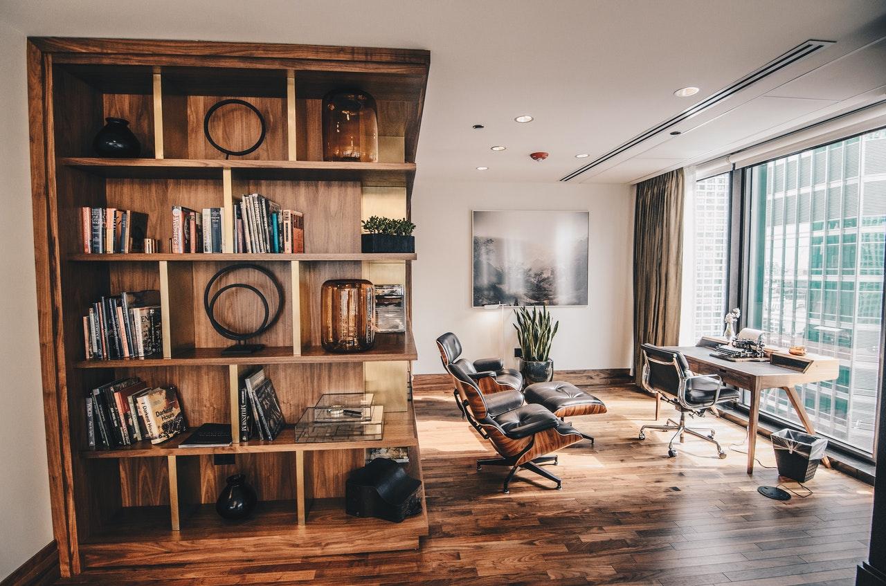 bookshelf and study table ideas
