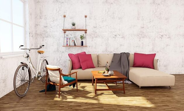 interior sofa table bicycle wood 2