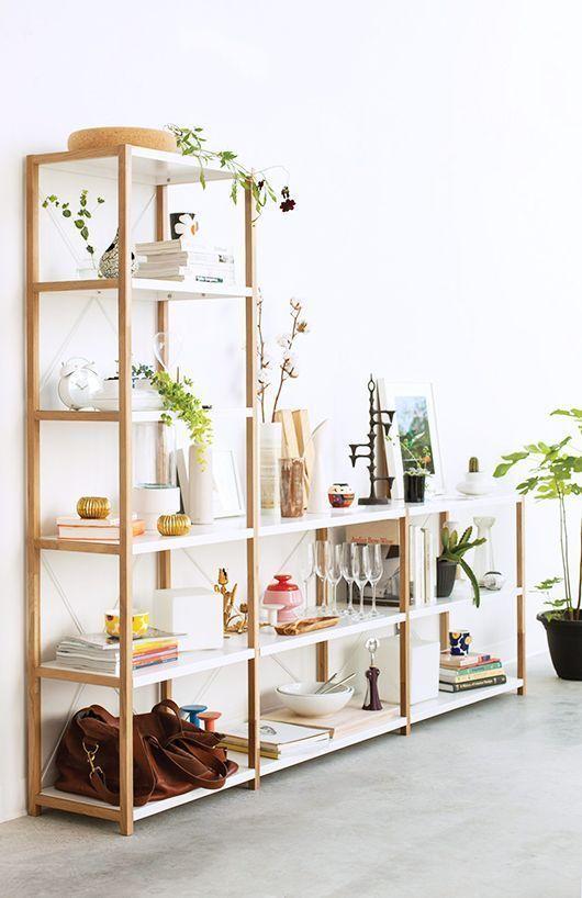 minimalist bookshelf creative design