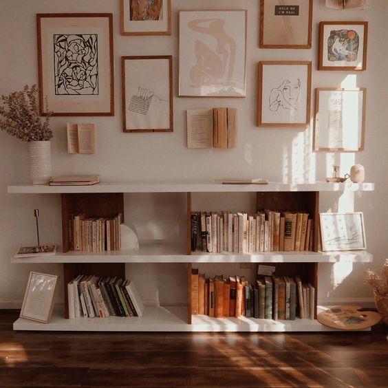 minimalist bookshelf ideas