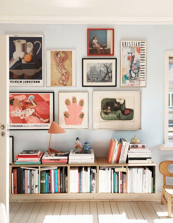 spacial bookshelf design ideas