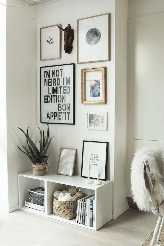 wooden Bookshelf inspiration white color