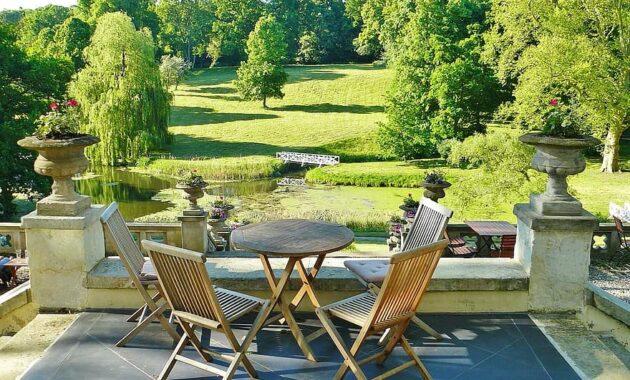 castle park hotel terrace park idyllic romantic architecture property garden architecture 1