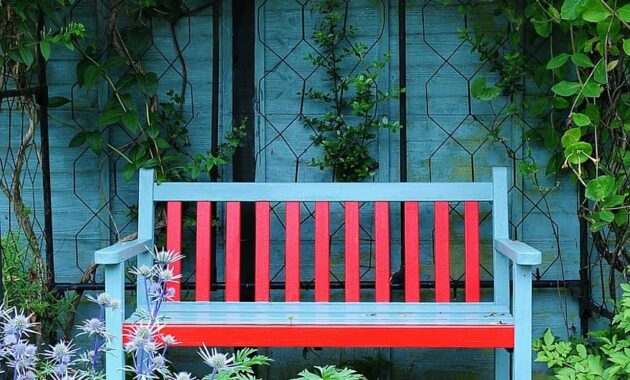 garden bench garden terrace park bench colors seats relaxation chair rest