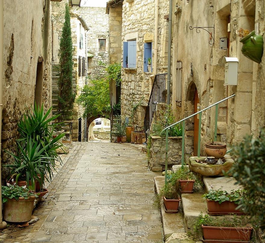 lane medieval village pavers arcade