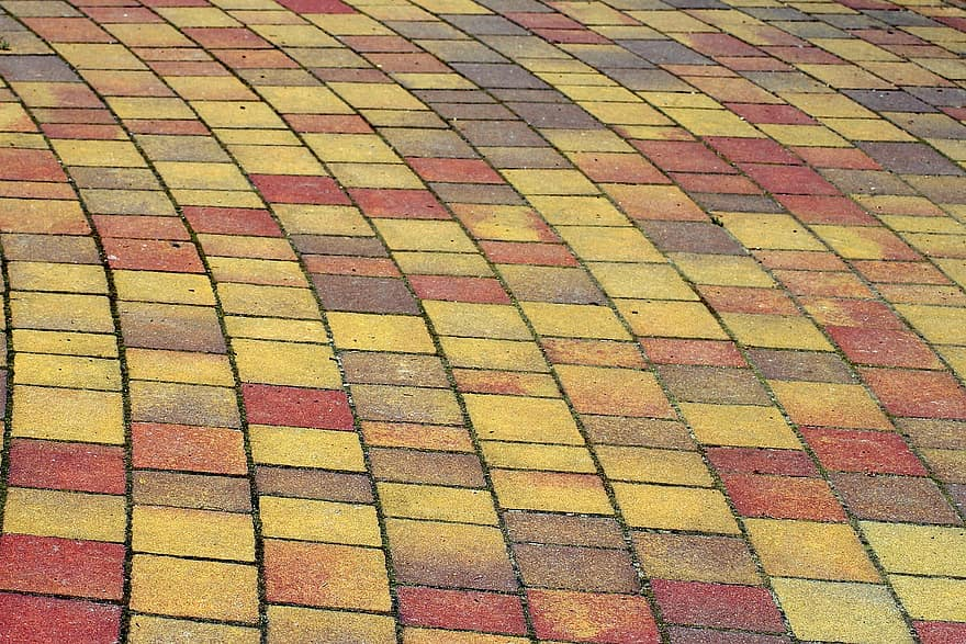 pavers decking walkway the background texture the structure of the pattern pavement tempered