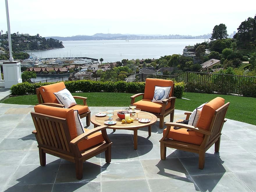 teak teak patio furniture teak furniture patio set patio furniture patio view tiburon luxury