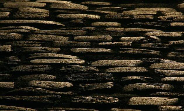 texture pavers auray morbihan brittany pierre granite street