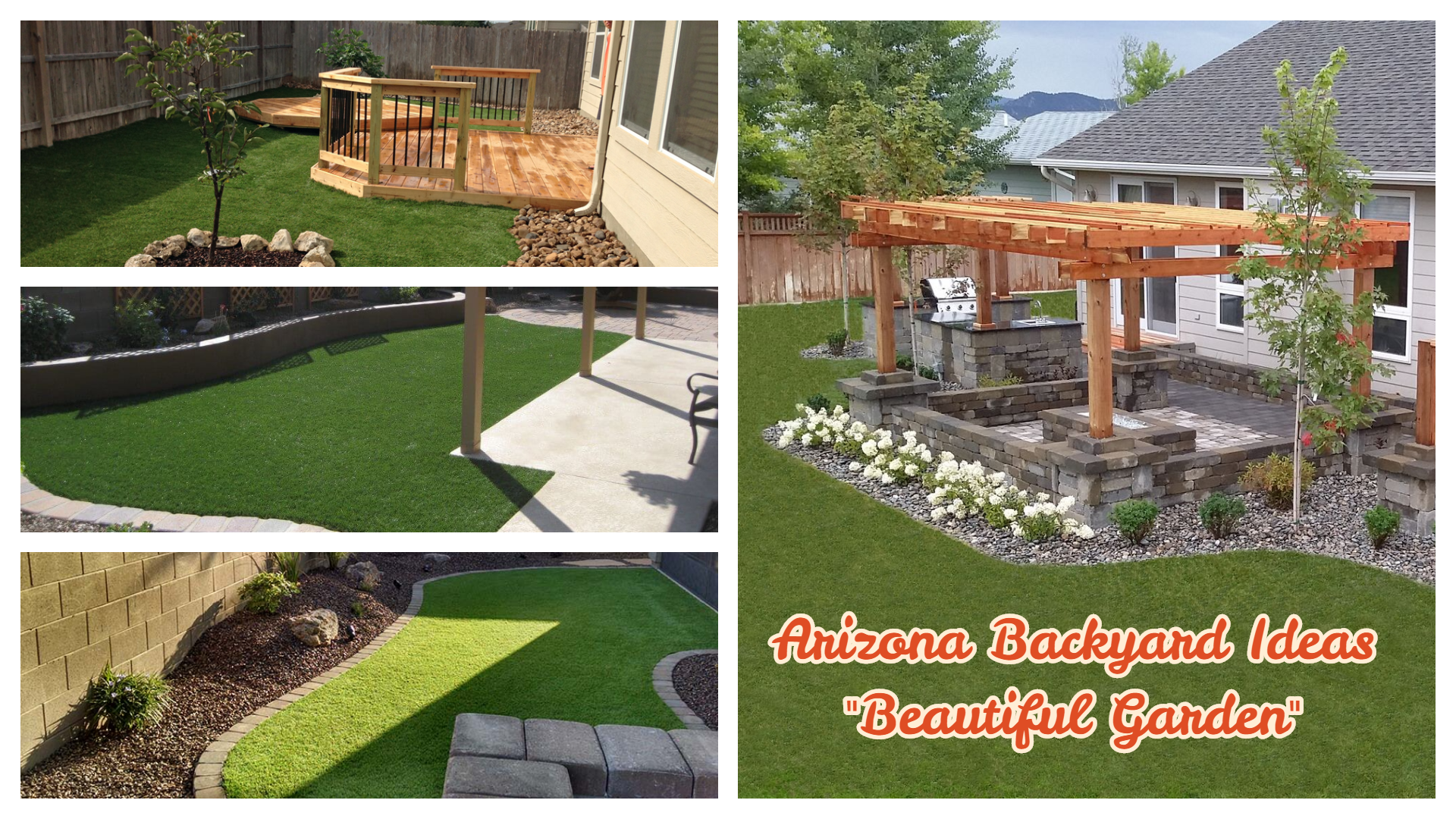 Beautiful Arizona backyard ideas