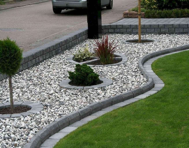 Georgeous Front yard Rock Garden Ideas