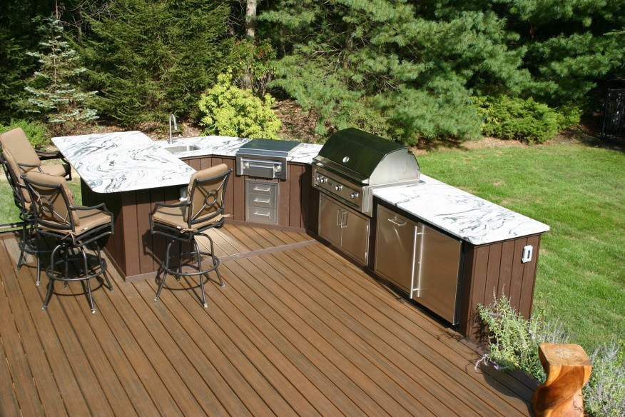Outdoor BBQ Place Inspiration