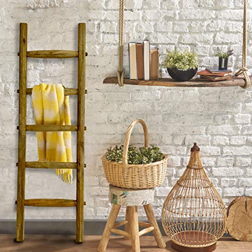 antique ladder decor