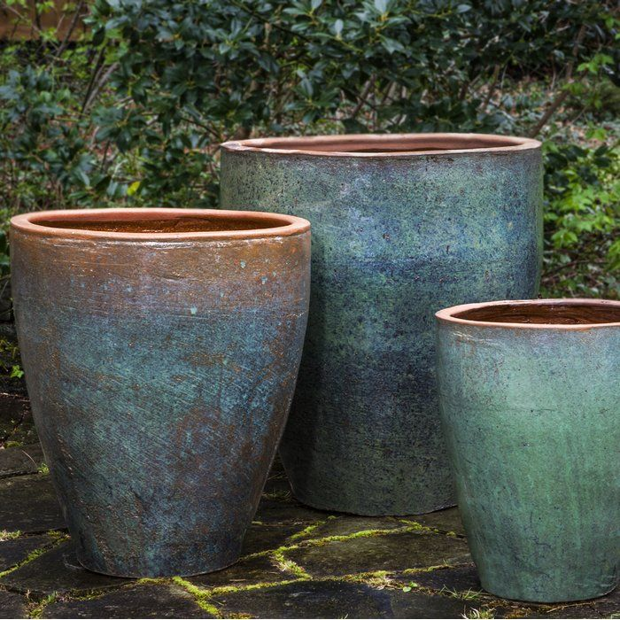 bautiful flower pots vintage ideas