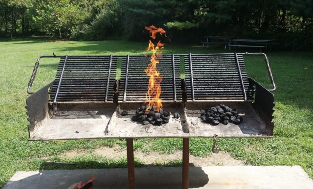 bbq and firepit design