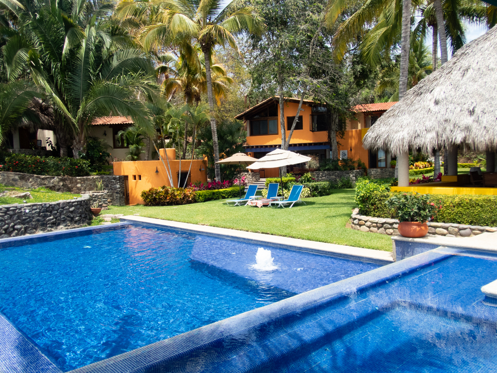 backyard with pool ideas modern house