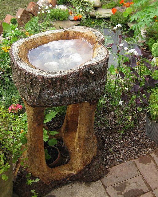 beautiful bird bath ideas