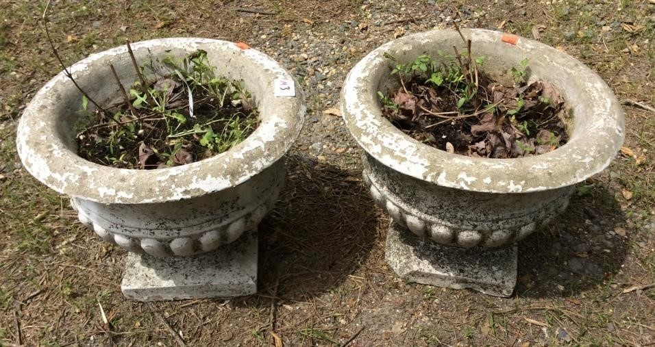 concrete planters design