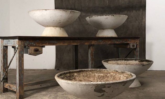 concrete planters ideas