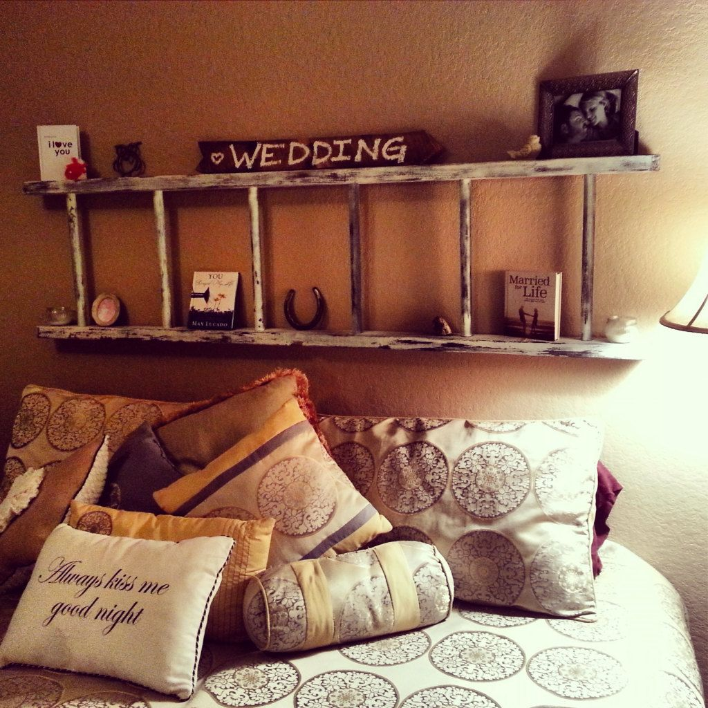 decorative rustic ladder inspiration