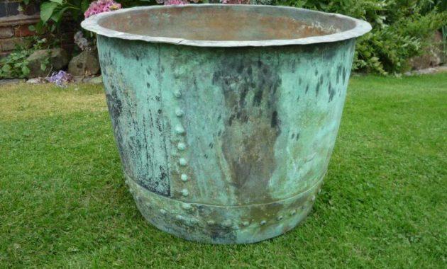 flower pots vintage design