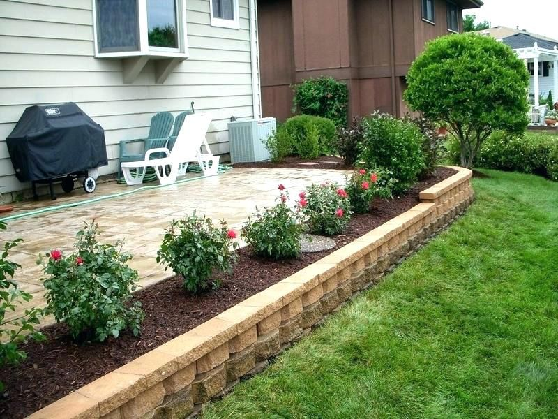 front yard ideas with flowers garden