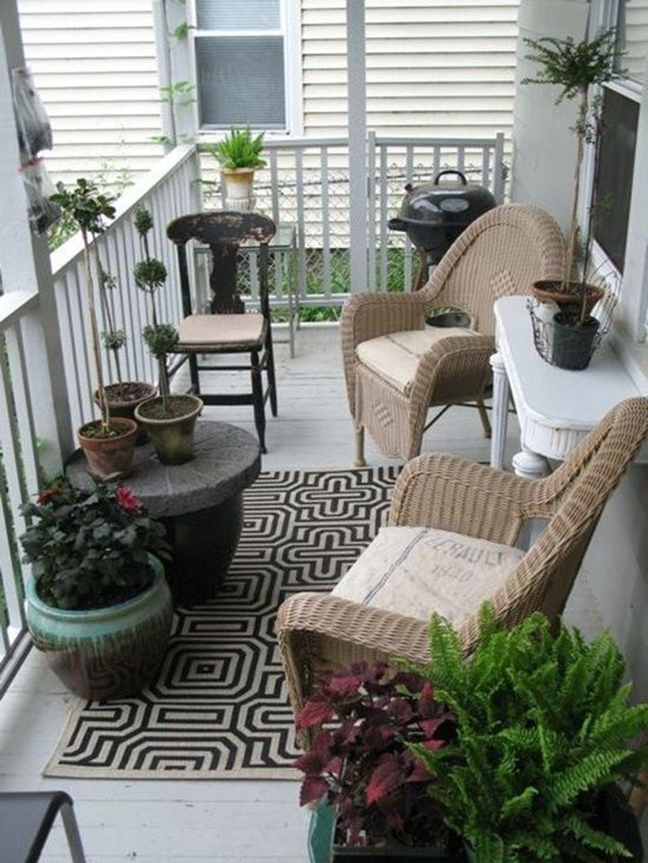 neat outdoor living room