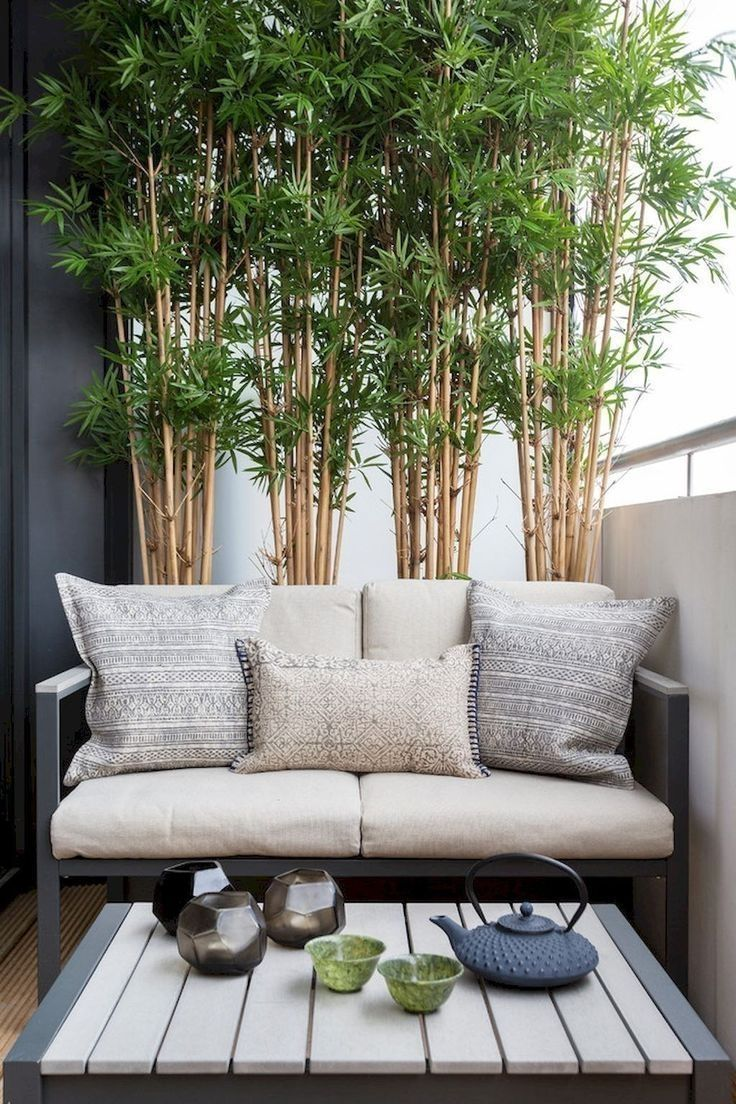 simple balcony garden