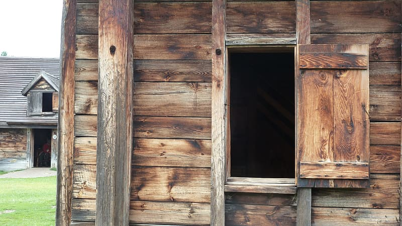 Beautiful Design of window plywood