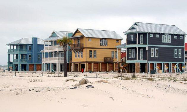 beach homes construction industry florida usa tropical climate multi family beach sand