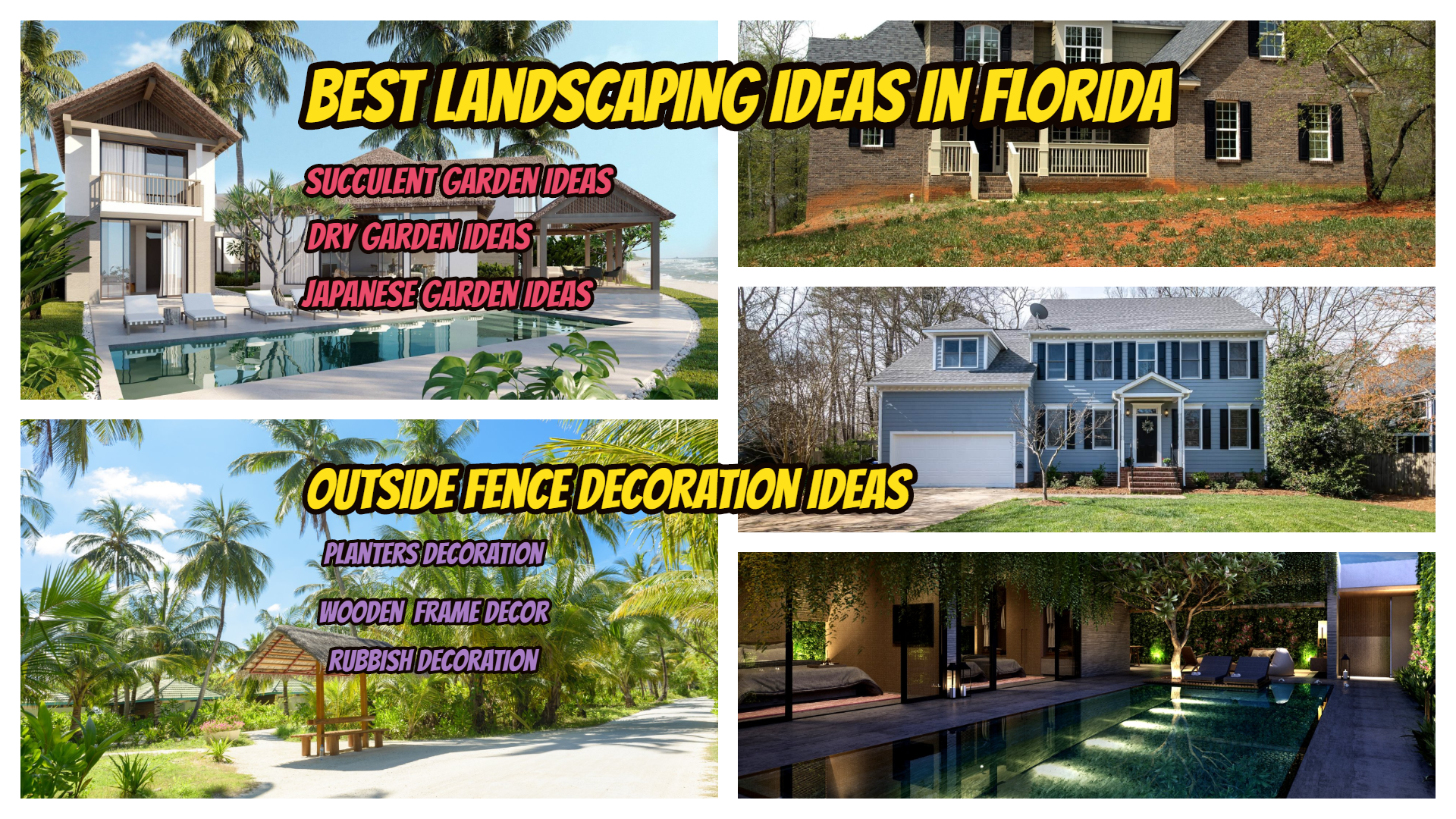 landscaping ideas in florida