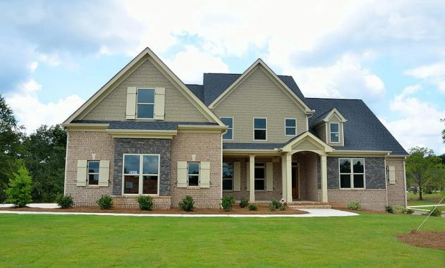 new home house construction estate mortgage residential property family architecture