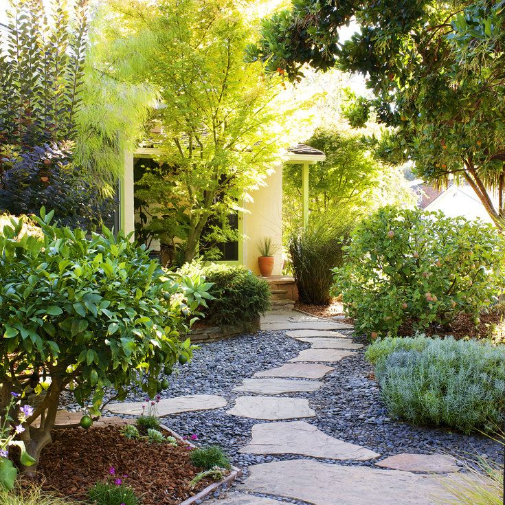 front yard ideas without grass