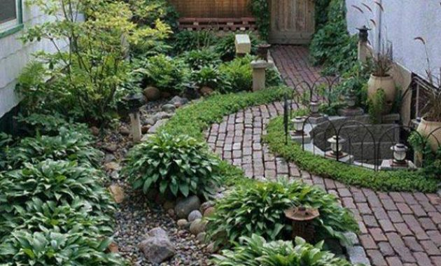 front yard landscaping ideas with rocks no grass