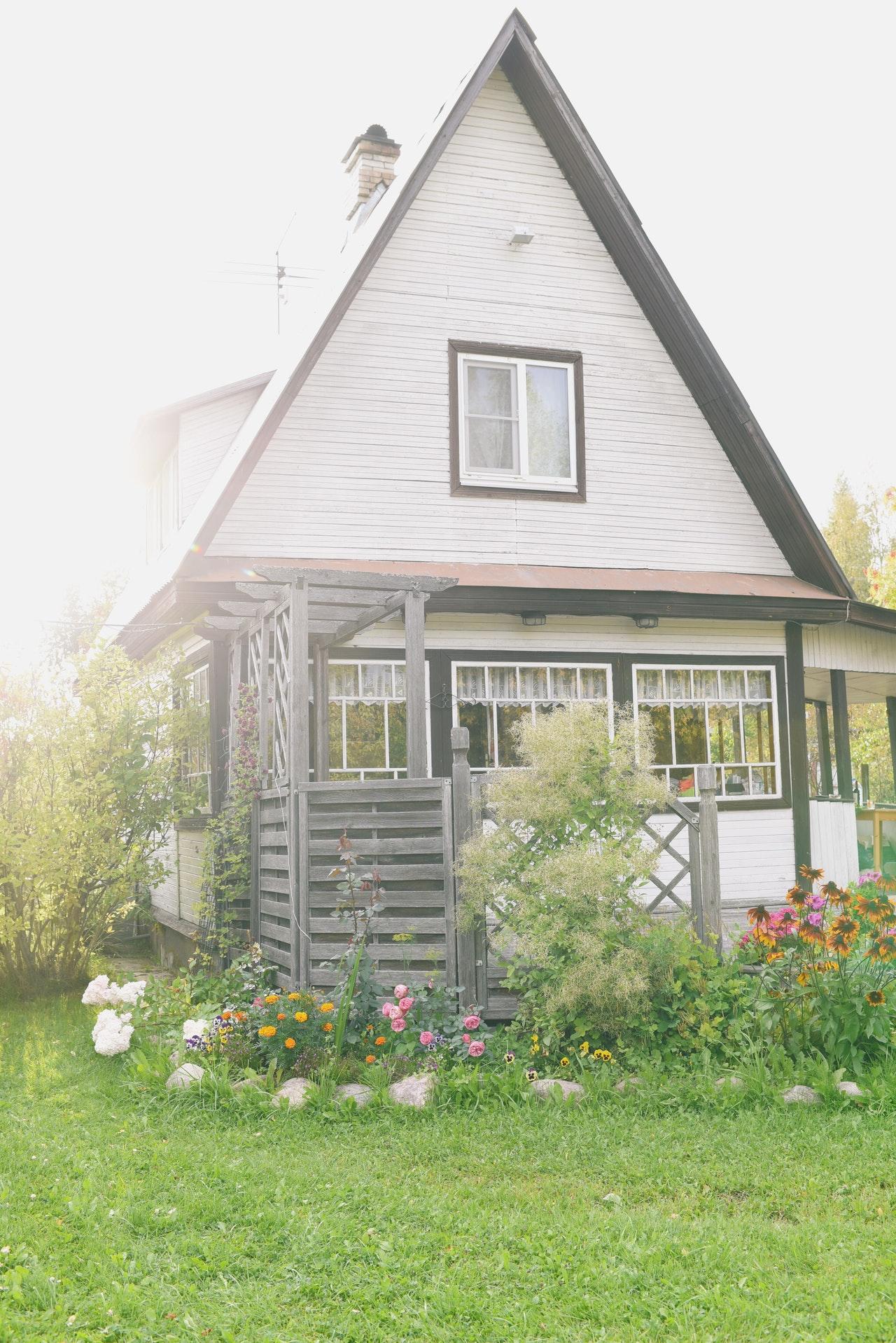 minimalist house inside