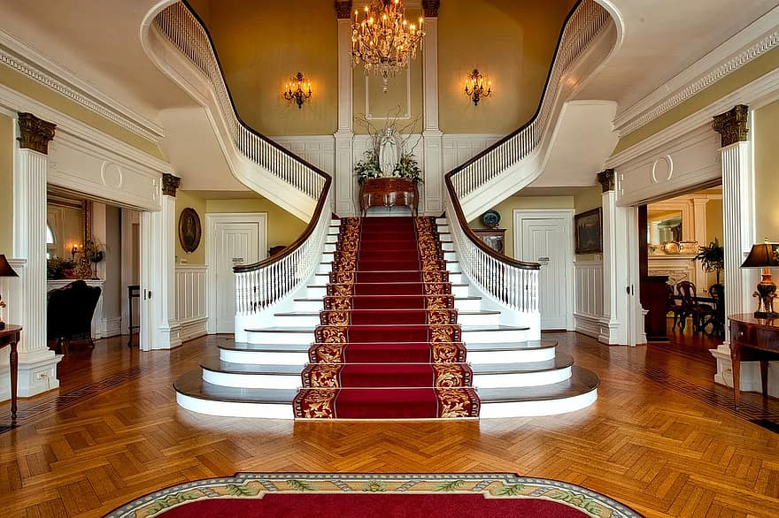 governor s mansion montgomery alabama grand staircase elegant inside indoors interior hdr