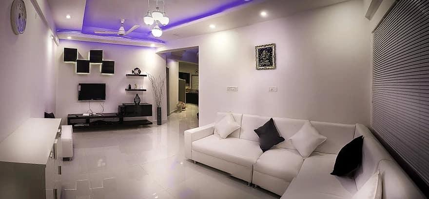 hall apartment interior design modern home room white luxury