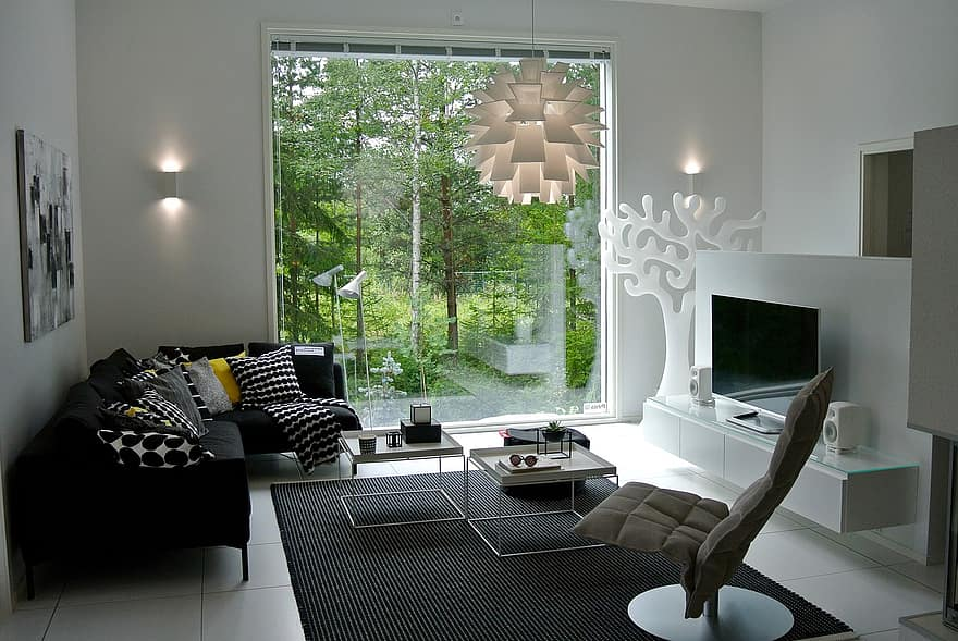 interior design wall mounted lamp ideas with green decor inspiration