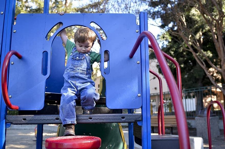 playground child kid active boy