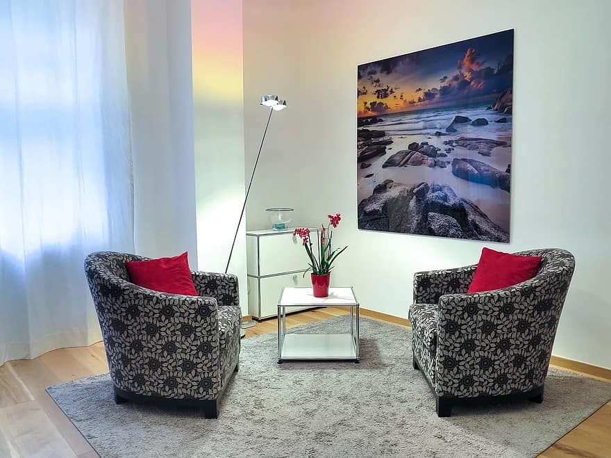 psychology psychotherapy therapy room talk room space interior design interior setup