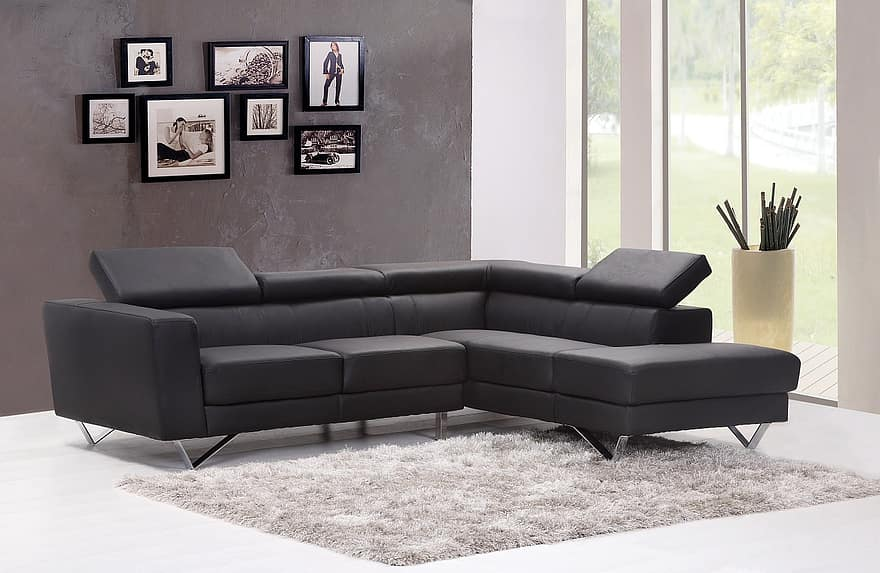 sofa couch living room home interior carpet modern room house