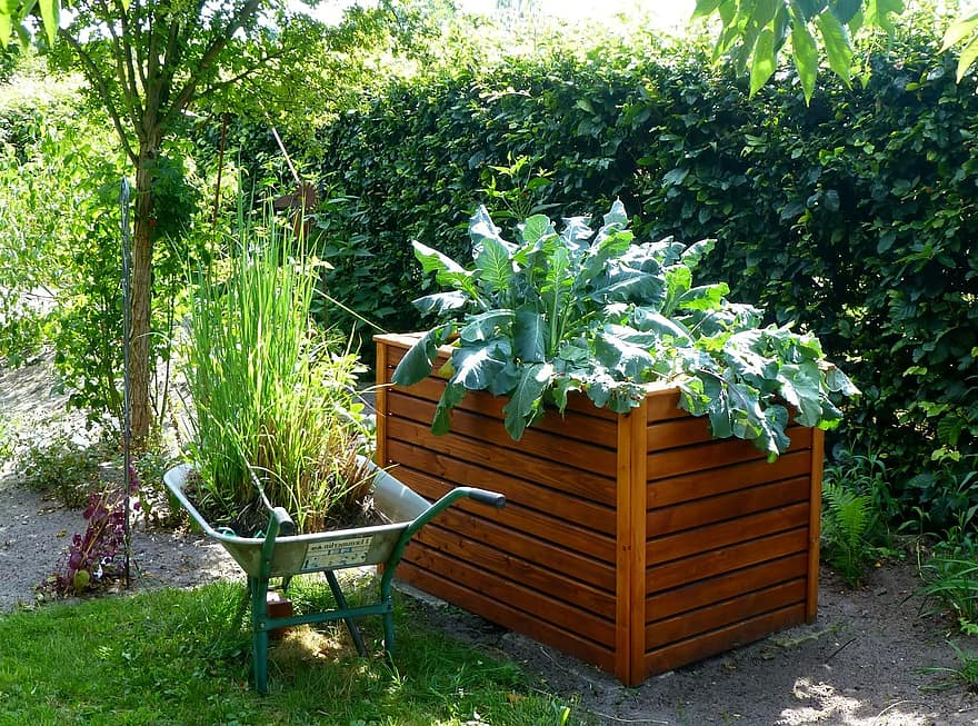 garden raised bed kohl gardening vegetables grow vegetables yourself uncooked fresh healthy 1