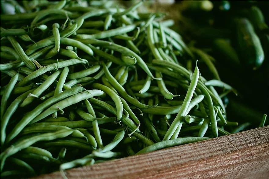 vegetable string green bean food vegetarian organic raw market