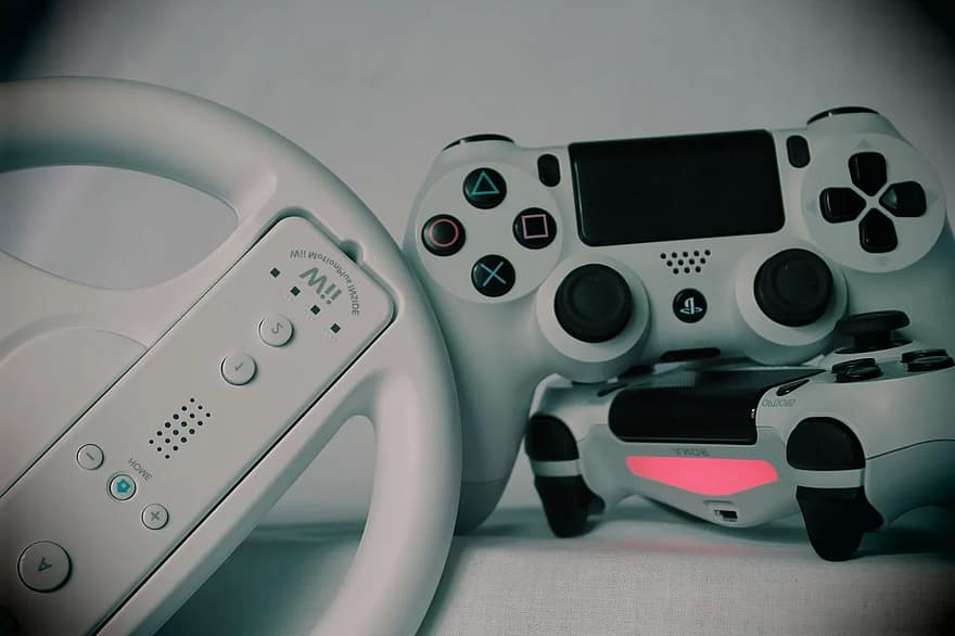 gaming games gamepad ps4 playstation console controller video game control