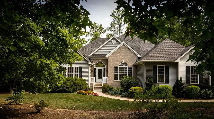 backyard remodel house home residence real estate building architecture property exterior housing