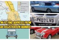 How to Find Address from Car Registration Number